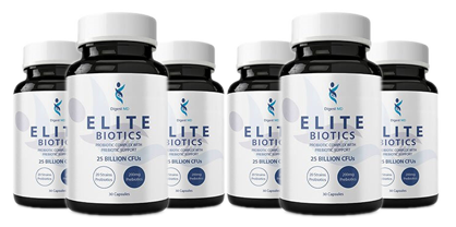 Elite Biotics - 6 Bottle - Official Store