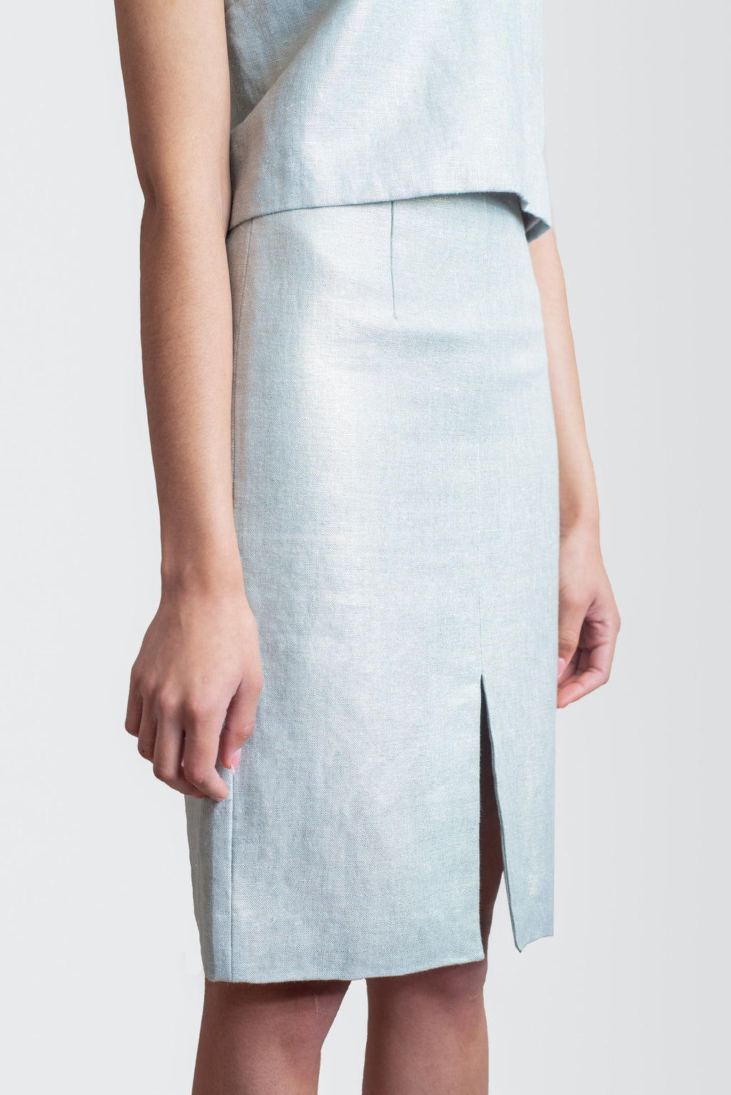The Reverse Pencil Skirt