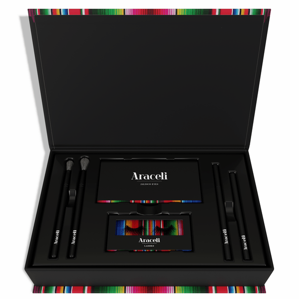 Jalisco Eyes Kit - Shop Quality eye shadows, liquid & pencil eyeliners, brushes & Lashes!