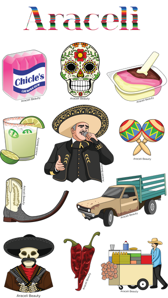 Sticker Sheet Cuatro