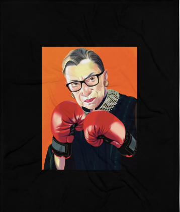 RBG Throw Blanket