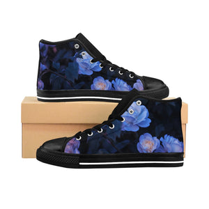 """Moonflower"" Women's High-top Sneakers"