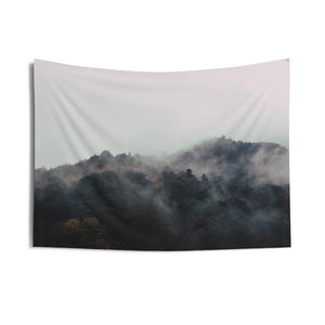 """ Mushi Mountain"" Indoor Wall Tapestries"