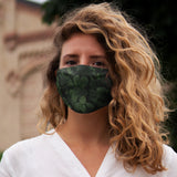 """Fresh Green"" Snug-Fit Polyester Face Mask"