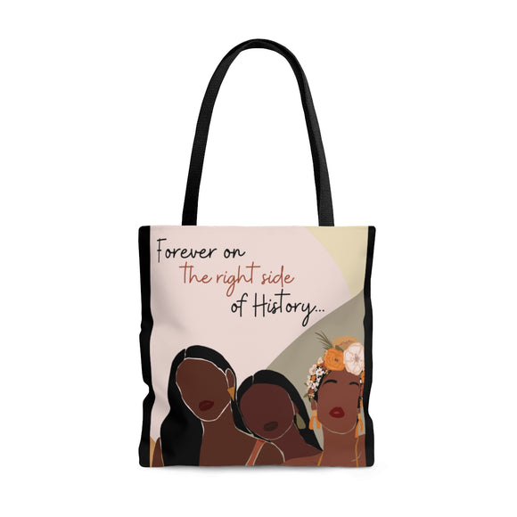 Right Side of History Tote Bag