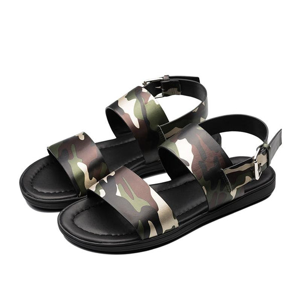 CAMOUFLAGE SANDAL GREEN - Top Sandal - OPP Official Store (OPP France)