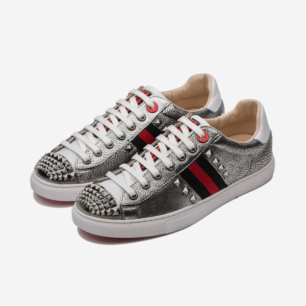 CASUAL LACE-UP SHOES SILVER - Top Casual Shoes - OPP Official Store (OPP France)