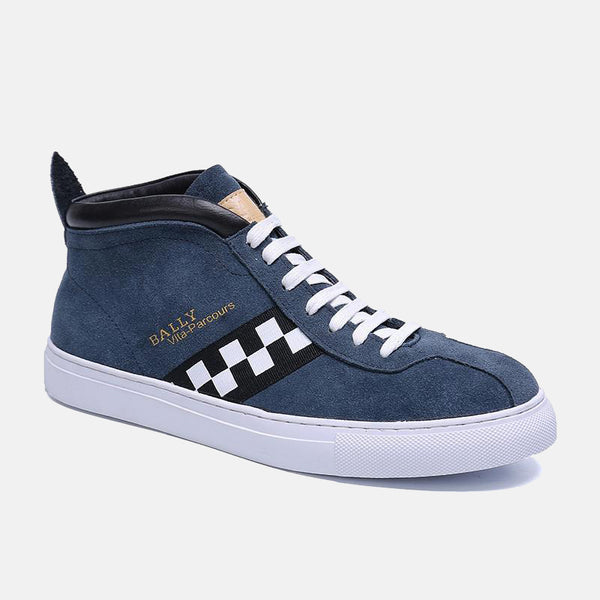 BA-Get On Low Top Sneakers BLUE Men Gorgeous
