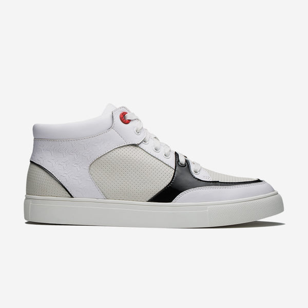 HIGH-TOP SHOES WHITE - Top High-top Shoes - OPP Official Store (OPP France)