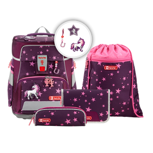 Step by Step Schulranzen Space 5tlg.Set Unicorn