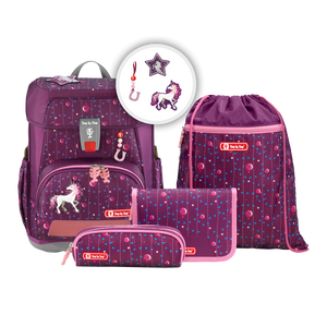 Step by Step Schulranzen CLOUD 5tlg.Set Dreamy Unicorn