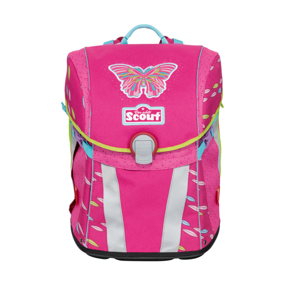 Scout Schulranzen Sunny 4tlg.Set Pink Butterfly