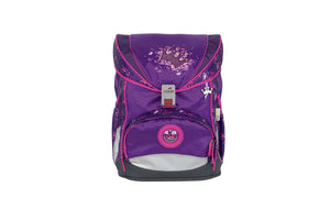 DerDieDas Schulranzen Schulranzenset ErgoFlex Superlight 5-teilig Purple Princess