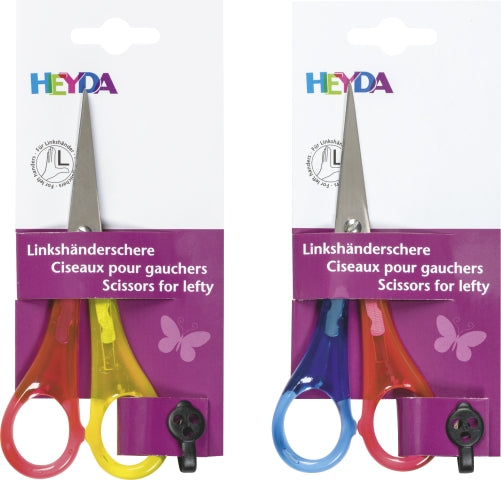 HEYDA Linkshänderschere spitz