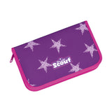 Scout Schulranzen Exklusiv Kollektion Alpha 4tlg.Set inkl.Powerbank Safty Light Unicorn Star