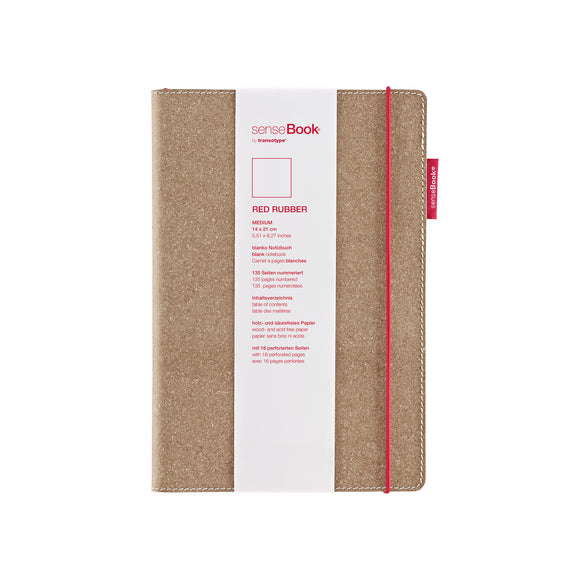 transotype senseBook Red Rubber medium 14x21cm