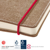 transotype senseBook Red Rubber small 9x14cm
