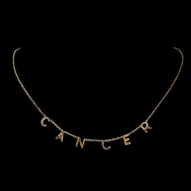 Eternal Roses® Cancer Zodiac Necklace