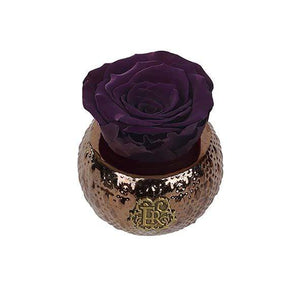 Eternal Roses® Centerpiece Plum Mini Soho Royal Eternal Luxury Rose