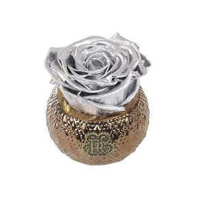 Eternal Roses® Centerpiece Silver Mini Soho Royal Eternal Luxury Rose