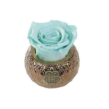 Eternal Roses® Centerpiece Tiffany Blue Mini Soho Royal Eternal Luxury Rose