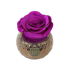 Eternal Roses® Centerpiece Orchid Mini Soho Royal Eternal Luxury Rose