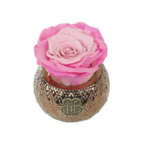 Eternal Roses® Centerpiece Rosette Mini Soho Royal Eternal Luxury Rose