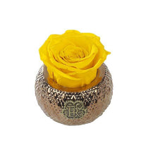 Eternal Roses® Centerpiece Friendship Yellow Mini Soho Royal Eternal Luxury Rose