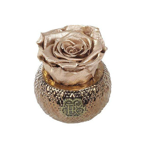 Eternal Roses® Centerpiece Gold Mini Soho Royal Eternal Luxury Rose
