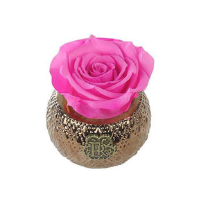 Eternal Roses® Centerpiece Hot Pink Mini Soho Royal Eternal Luxury Rose