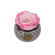 Eternal Roses® Centerpiece Rosette Mini Soho Steel Eternal Luxury Rose