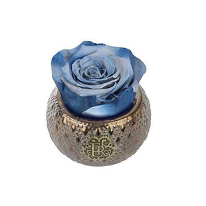 Eternal Roses® Centerpiece Denim Mini Soho Steel Eternal Luxury Rose