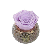 Eternal Roses® Centerpiece Lilac Mini Soho Steel Eternal Luxury Rose