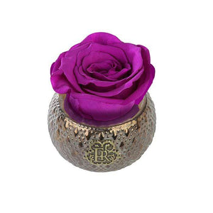 Eternal Roses® Centerpiece Orchid Mini Soho Steel Eternal Luxury Rose