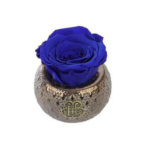 Eternal Roses® Centerpiece Azzure Mini Soho Steel Eternal Luxury Rose