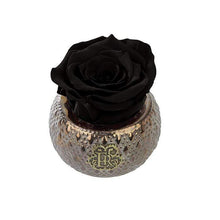 Eternal Roses® Centerpiece Midnight Mini Soho Steel Eternal Luxury Rose