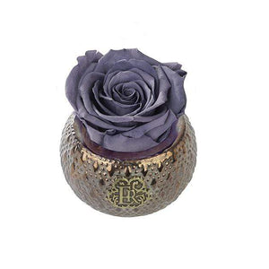 Eternal Roses® Centerpiece Stormy Mini Soho Steel Eternal Luxury Rose