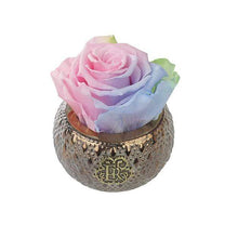 Eternal Roses® Centerpiece Aurora Mini Soho Steel Eternal Luxury Rose
