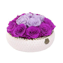 Eternal Roses® Centerpiece Small / Mystic Orchid Soho CLASSIC Eternal Roses Arrangement