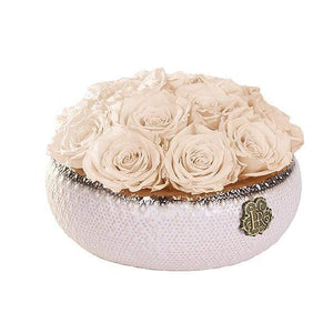 Eternal Roses® Centerpiece Small / Champagne Soho CLASSIC Eternal Roses Arrangement