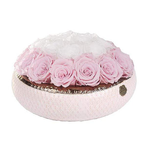 Eternal Roses® Centerpiece Soho Classic Rose Arrangement in Sweet Pink