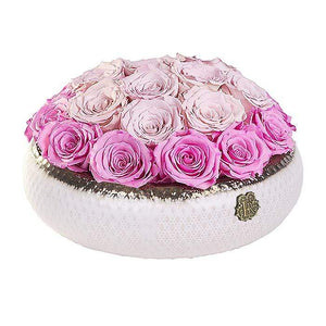 Eternal Roses® Centerpiece Soho Rose Arrangement in Glow, medium