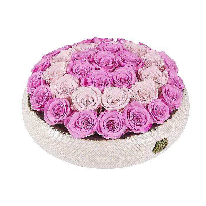 Eternal Roses® Centerpiece Soho Rose Arrangement In Rose Soiree, large