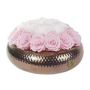 Eternal Roses® Centerpiece Medium / Sweet Pink Soho ROYAL Eternal Roses Arrangement