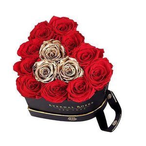 Eternal Roses® Chelsea Eternal Rose Gift Box Black in Be Mine