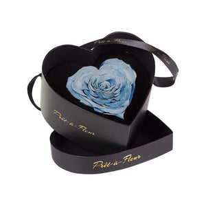 Eternal Roses® Black Chelsea Eternal Rose Gift Box in Denim