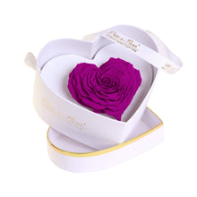 Eternal Roses® White Chelsea Eternal Rose Gift Box in Orchid