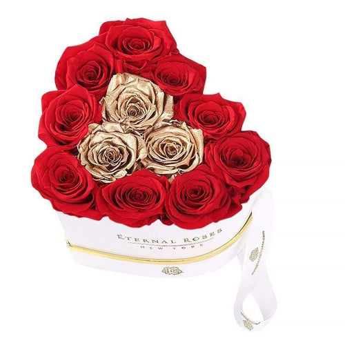 Eternal Roses® Chelsea Eternal Rose Gift Box White in Be Mine