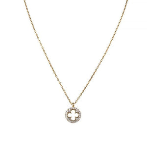 Eternal Roses® Clover Pave Necklace
