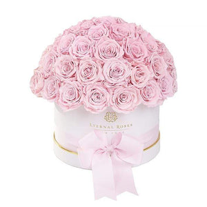 Eternal Roses® White / Blush Estella Gift Box